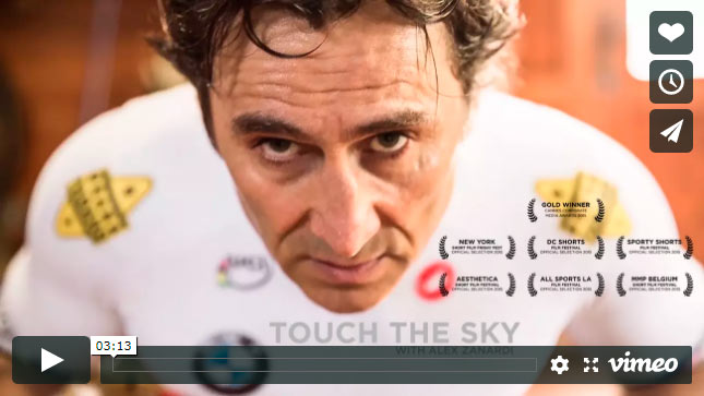 TOUCH THE SKY – WITH ALEX ZANARDI auf Vimeo.com